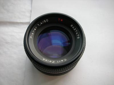 较新蔡司50mmf1.4镜头,收藏使用