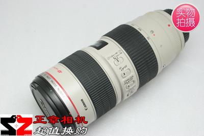 千亿国际娱乐官网首页EF 70-200mm f/2.8LIS USM 70-200小白 防抖一代长焦红圈镜头