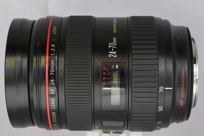 【全画幅标准变焦镜头】佳能 EF 24-70/2.8L USM(NO:3011)