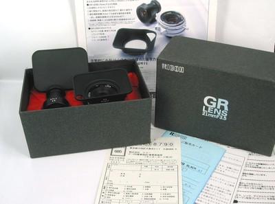 理光 GR 21/3.5 L39 限量版 Leica LTM 口 新同品 包装附件全