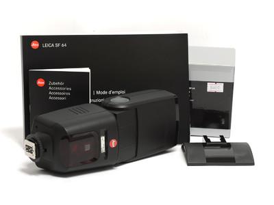 徕卡/Leica SF-64 TTL 闪光灯 14623   *超美品连盒*