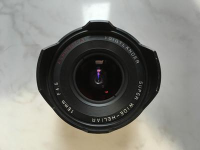 福伦达 15mm f/4.5二代M口