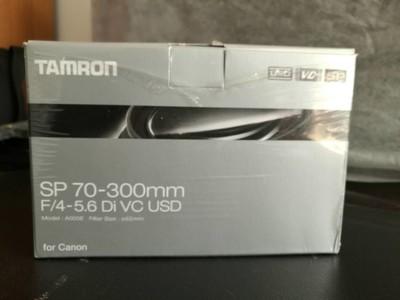 腾龙SP 70-300mm F/4-5.6 Di VC USD(A030) (佳能口)