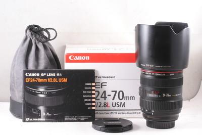 95/佳能 CANON EF 24-70/2.8L 一代 (全套包装)编号UA