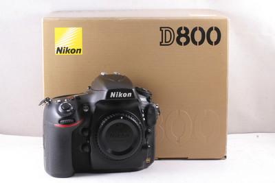 95/尼康 D800 全幅数码机 极新净(全套包装)快门数是3654次