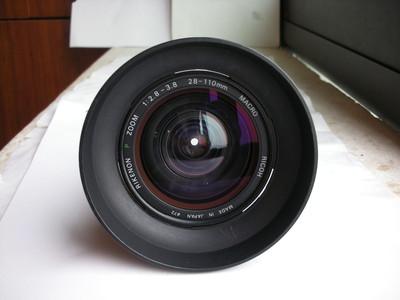 很新理光28--110mmf2.8镜头,可配各种胶片和数码相机,送遮光罩
