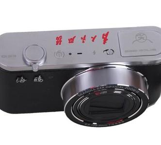 海鸥(SeaGull)CK10 复古数码相机 黑色 礼盒版套装