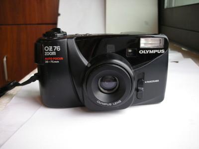 很新奥林巴斯OZ76自动对焦旁轴相机,可用5号电池,收藏使用