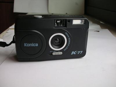极新极小巧柯尼卡K77自动曝光相机,30mm定焦镜头,送挂绳