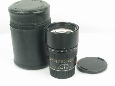 徕卡 Leica Summicron-M 90/2 新同品 带皮桶