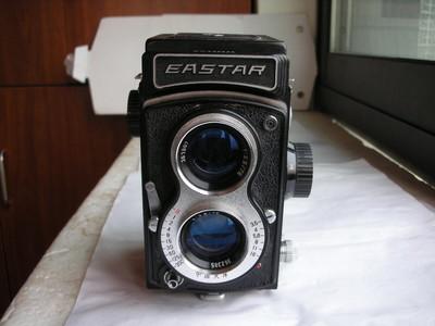 很新东方120双反相机,送原配牛皮套,收藏使用