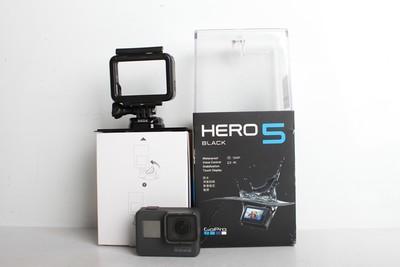 93新二手 GOPRO HERO 5 黑狗5 水下防水运动型摄像机 B95149 津