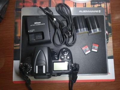 自用尼康 D7000-送包送卡