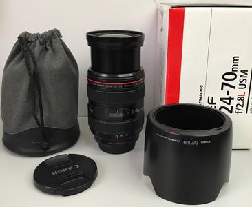 佳能 EF 24-70mm f/2.8L USM 带包装专业红圈镜头EF24-70/2.8L