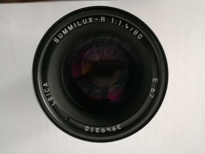 最新款 方字人像头 Leica SUMMILUX-R 80 mm f/1.4