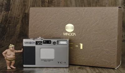 美能达 Minolta TC-1 TC1 箱说全 美品