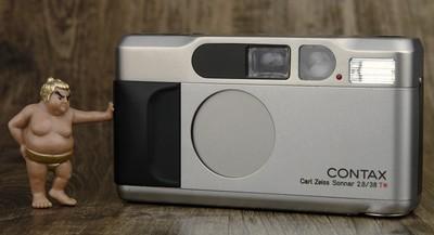 Contax T2 高档 袖珍机 胶片机 成色不错