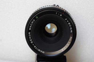 玛米亚 MAMIYA SEKOR MARCO 80/4 微距 中画幅单反镜头