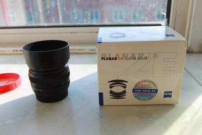 卡尔·蔡司 Planar T* 50mm f/1.4 ZF.2