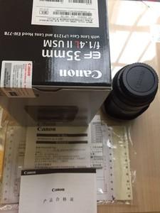 佳能 EF 35mm f/1.4L II USM行货