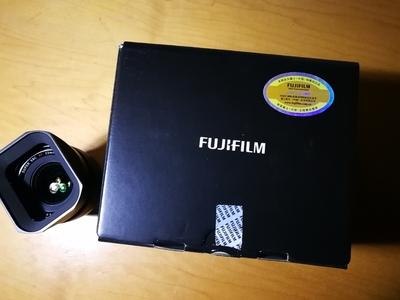 自用富士23 1.4定焦镜头,国行98新(送原装金属遮光罩)