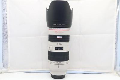 97新二手Canon佳能 70-200/2.8 L 小白变焦镜头(1124)【津】
