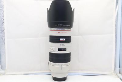 96新二手Canon佳能 70-200/2.8 L 小白变焦镜头(1126)【亚】