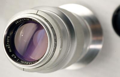 nikon尼康口德产莱卡Leica Leitz Wetzlar Hektor 135 4.5镜头