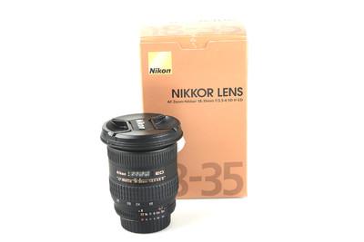 98新 尼康 AF 18-35mm f/3.5-4.5D IF-ED(银广角)