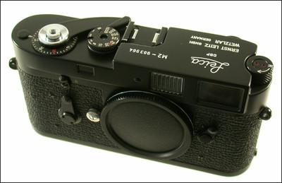 极品成色 徕卡 Leica M2 黑漆 旁轴