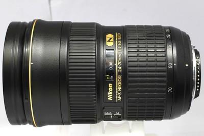 【全画幅标准变焦镜头】尼康 AF-S 24-70/2.8G ED(NO:3137)