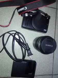 个人转让佳能M2相机 + EF-M 18-55mm镜头