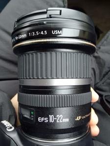 佳能EF-S10-22mm原厂全新镜头折价转让