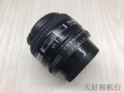 《天津天好》相机行 95新 尼康 50/1.4D 镜头