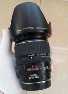 佳能 EF 28-135mm f/3.5-5.6 IS USM全副防陡镜头成色不错 !