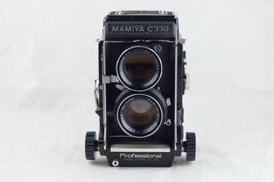 Mamiya C330 后期蓝点