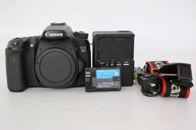 95新二手 Canon佳能 70D 单机 中端单反相机(W07331)【武】