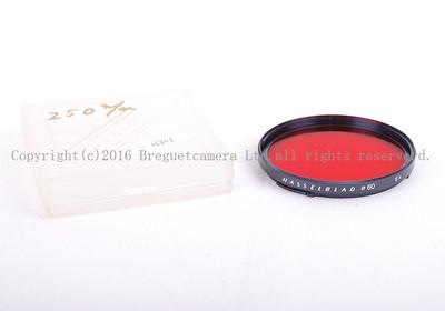 【美品】哈苏 60mm 8X R -3 (25 )红色滤镜 #jp16801