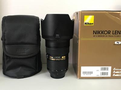 带包装尼康 AF-S Nikkor24-70mmf/2.8GED专业镜头AFs24-70/2.8