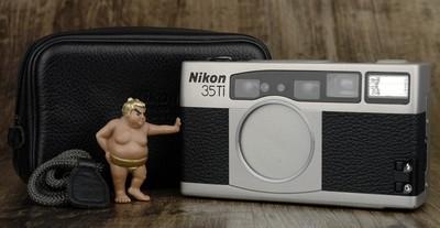 尼康 35Ti 高档 便携 袖珍 胶片机 美品