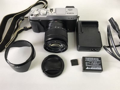 富士 X-E1 加16-50镜头套机 【非常新的】