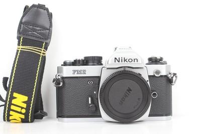 94新二手Nikon尼康 FM2 单机 胶片机 钛帘(B95423)【京】