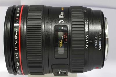 【全画幅标准变焦镜头】佳能 EF 24-105/4L IS USM(NO:9890)