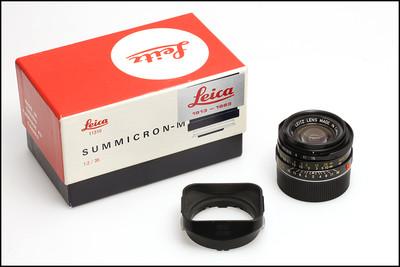 徕卡 Leica M 35/2  IV代 7枚玉 70周年纪念版 带包装