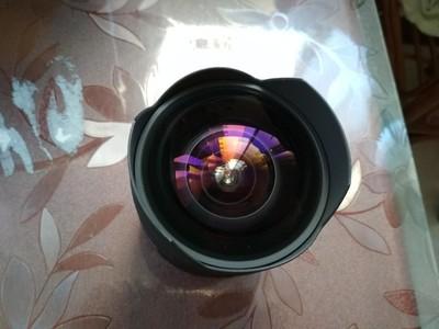 很新的适马佳能口14mm2.8定焦头