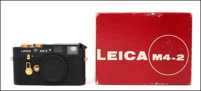 极罕见!徕卡 Leica M4-2 金机 限量15套 从未正式销售!带盒!