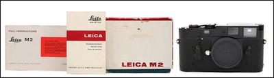 徕卡 Leica M2 黑漆 带包装盒