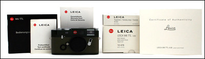 徕卡 Leica M6 TTL 0.85 GREEN PAINT 军绿版 带包装 新同品