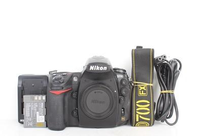 97新二手Nikon尼康 D700 单机 快门11000多次(B95458)【津】