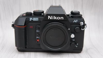 95新尼康Nikon F-501 自动胶片单反相机